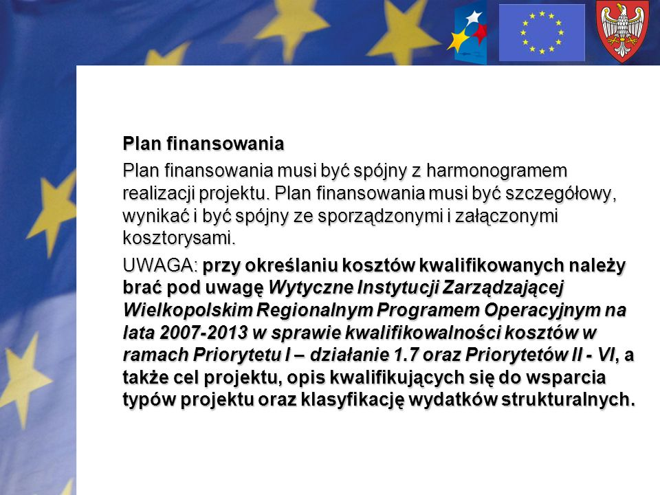 Plan finansowania
