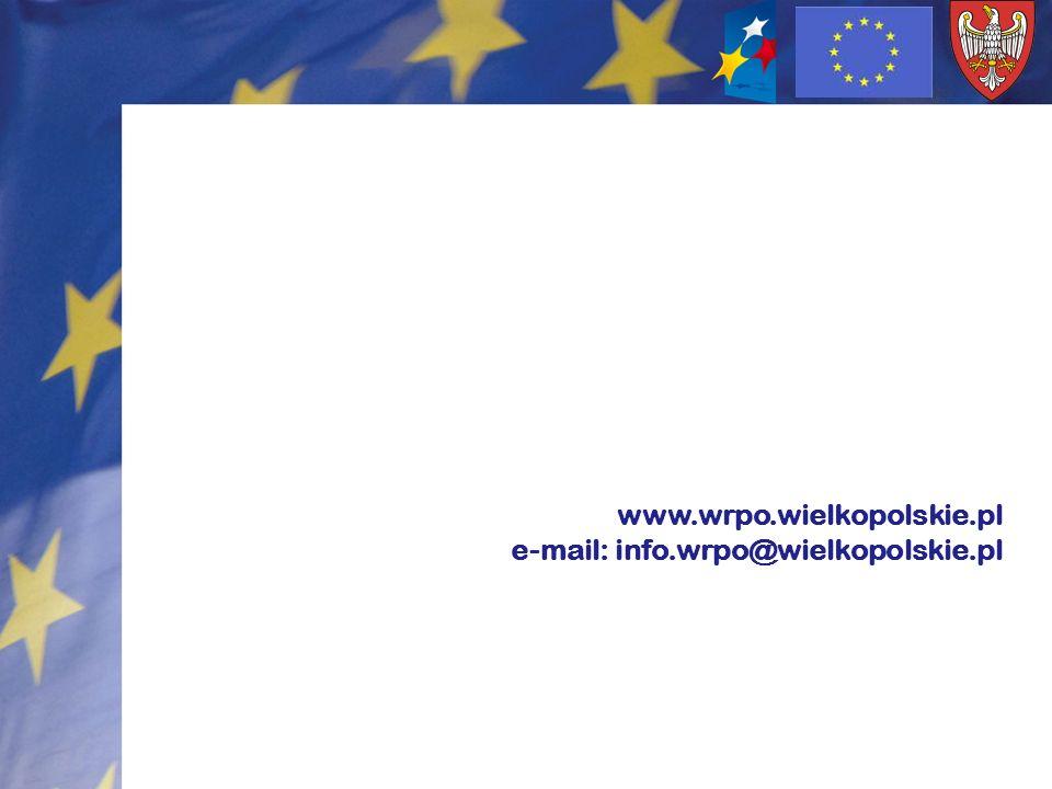 www.wrpo.wielkopolskie.pl e-mail: info.wrpo@wielkopolskie.pl