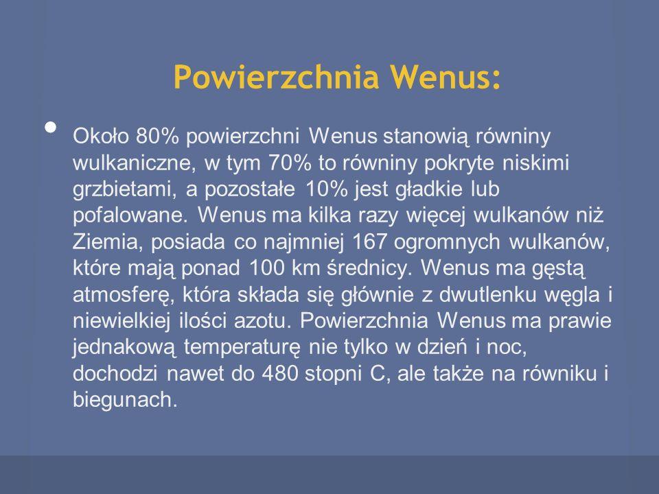 Powierzchnia Wenus: