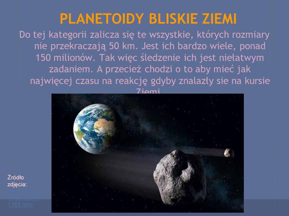 PLANETOIDY BLISKIE ZIEMI