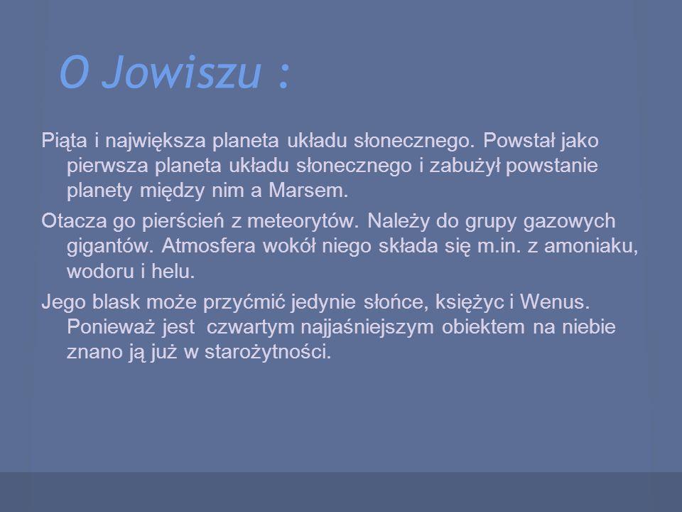 O Jowiszu :