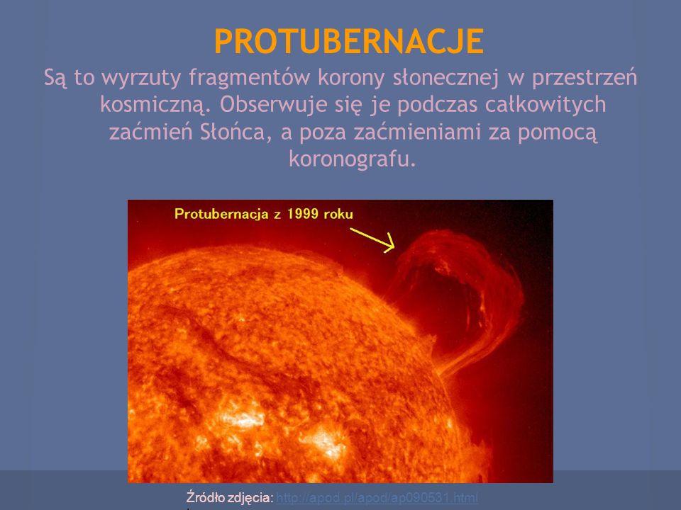PROTUBERNACJE