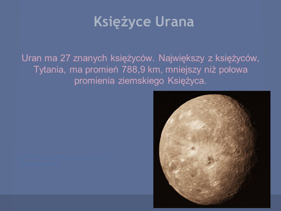 Księżyce Urana