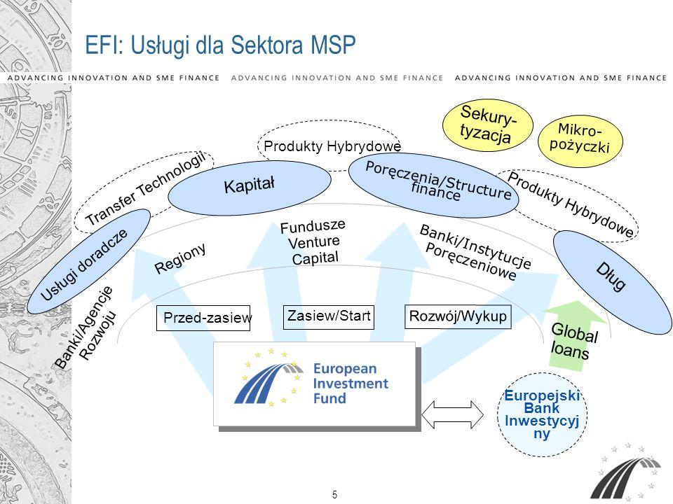 EFI: Usługi dla Sektora MSP