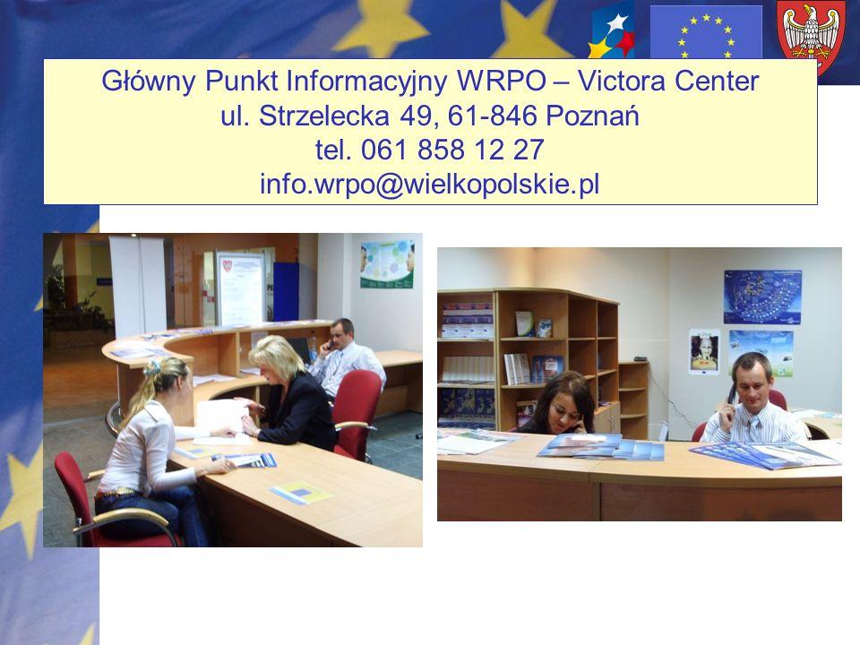 Główny Punkt Informacyjny WRPO – Victora Center ul