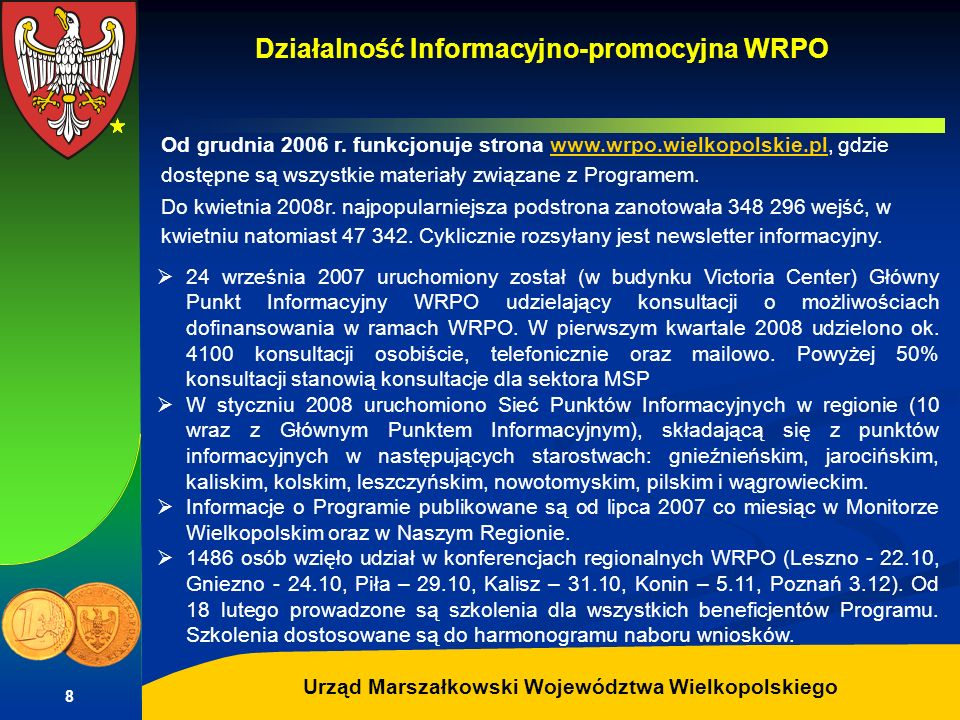 Działalność Informacyjno-promocyjna WRPO