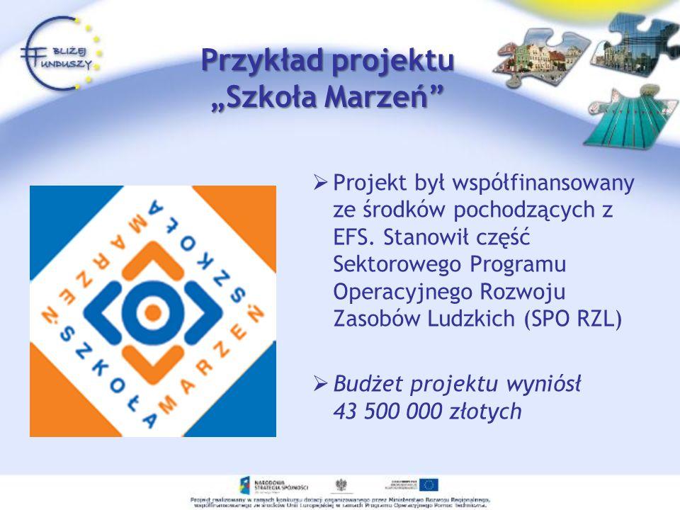 """Przykład projektu """"Szkoła Marzeń"""