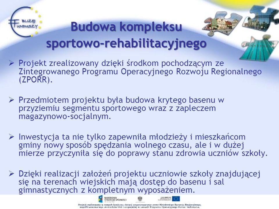 sportowo-rehabilitacyjnego
