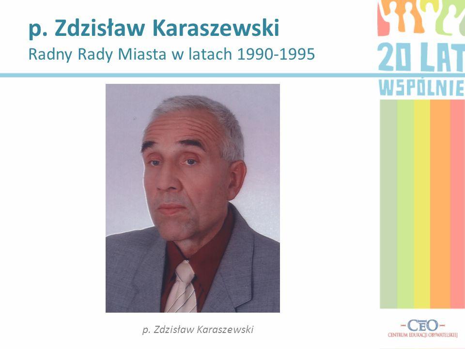 p. Zdzisław Karaszewski