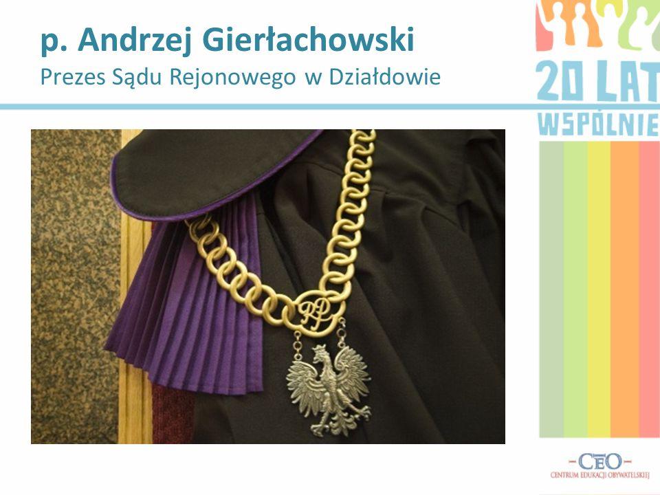 p. Andrzej Gierłachowski