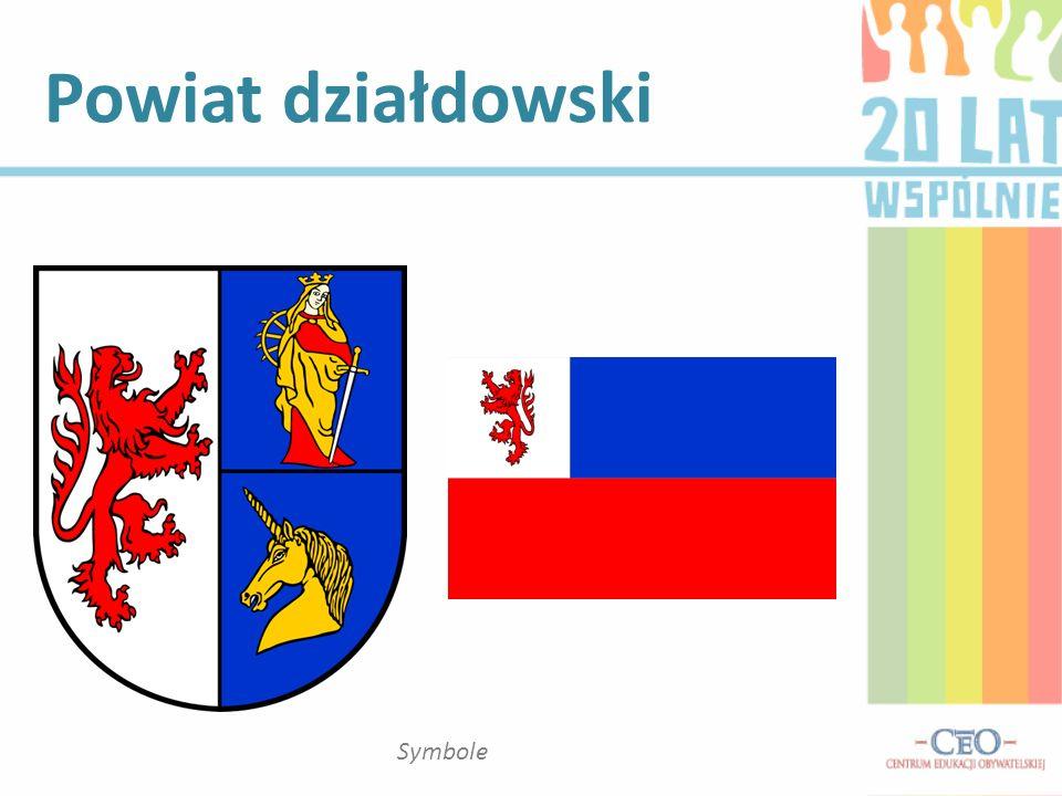 Powiat działdowski Symbole
