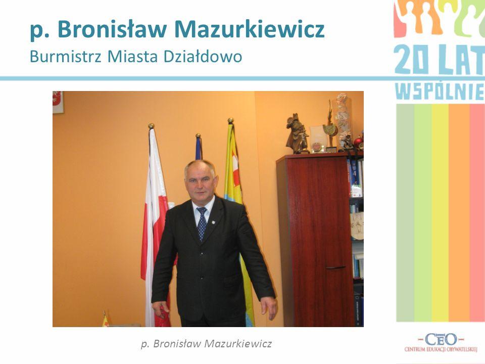 p. Bronisław Mazurkiewicz