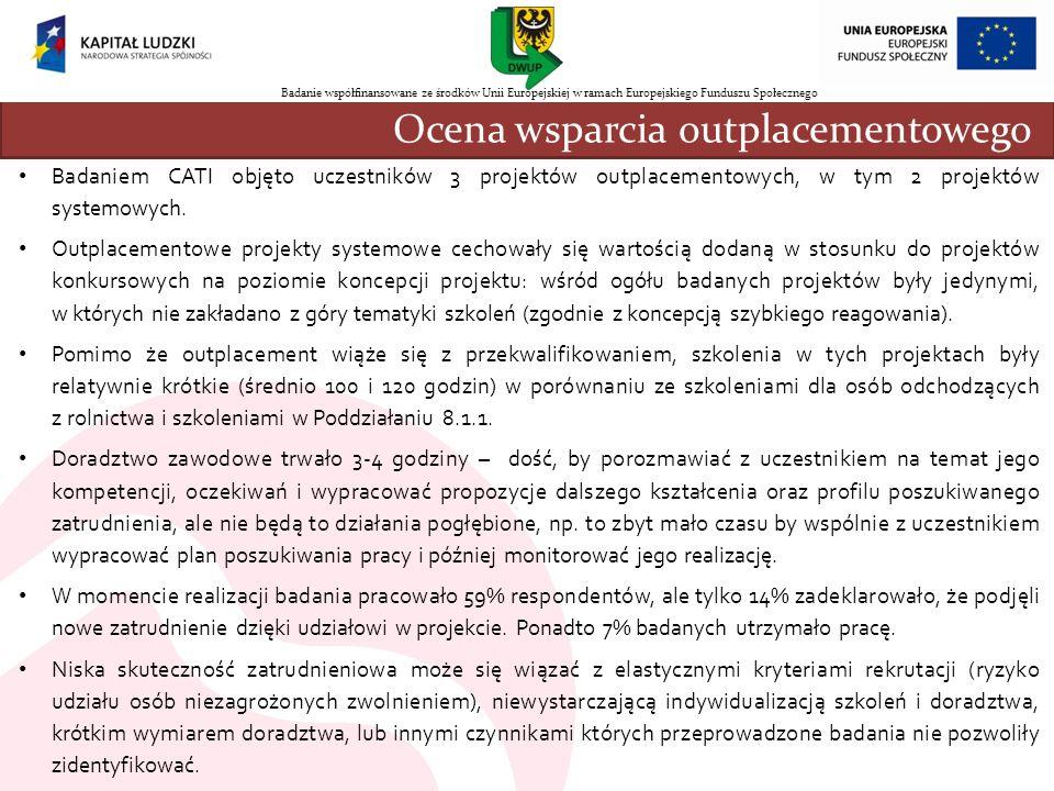 Ocena wsparcia outplacementowego