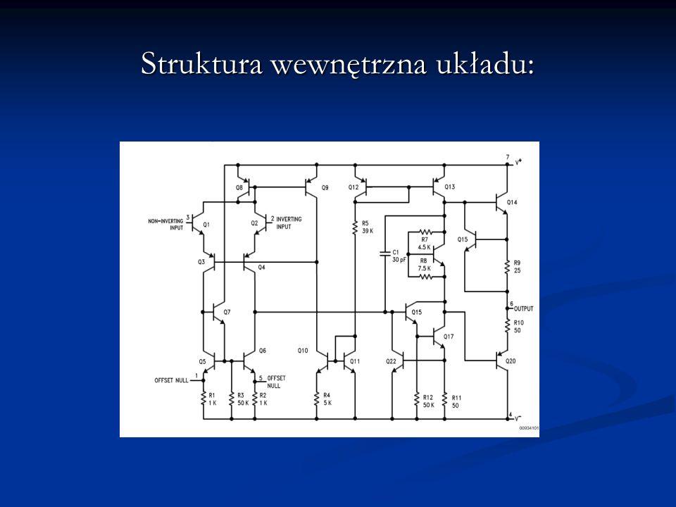 Struktura wewnętrzna układu: