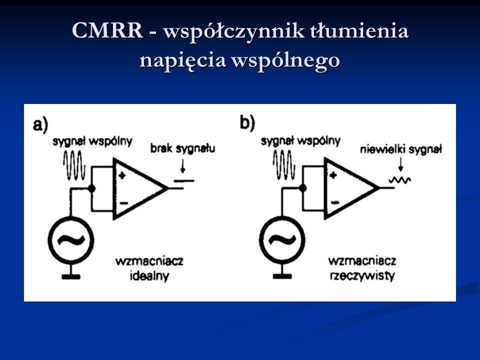 CMRR - współczynnik tłumienia napięcia wspólnego