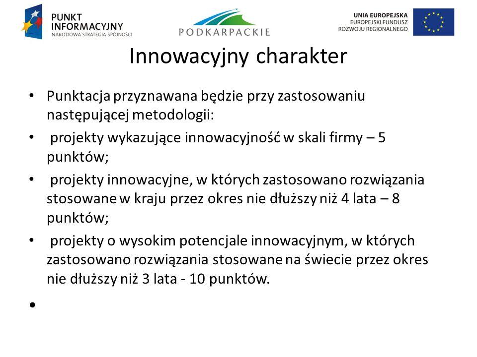 Innowacyjny charakter