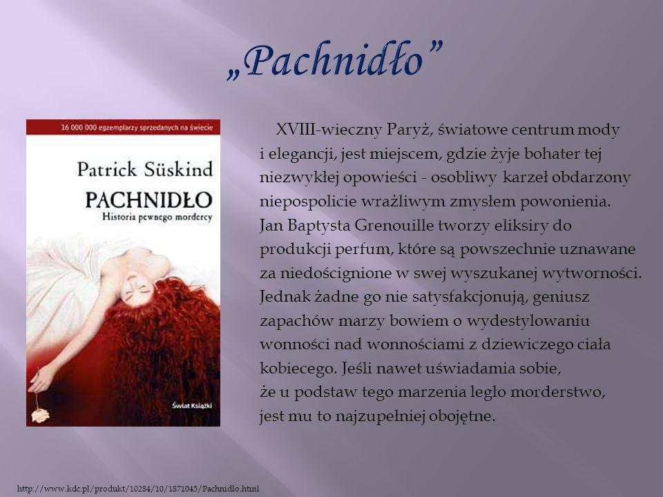 """""""Pachnidło XVIII-wieczny Paryż, światowe centrum mody"""