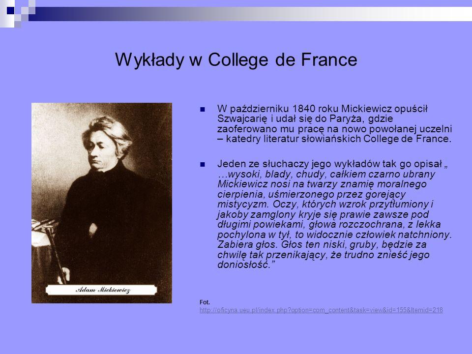 Wykłady w College de France