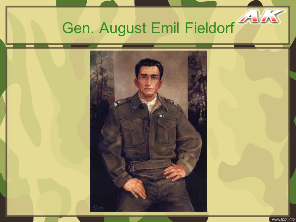 Gen. August Emil Fieldorf