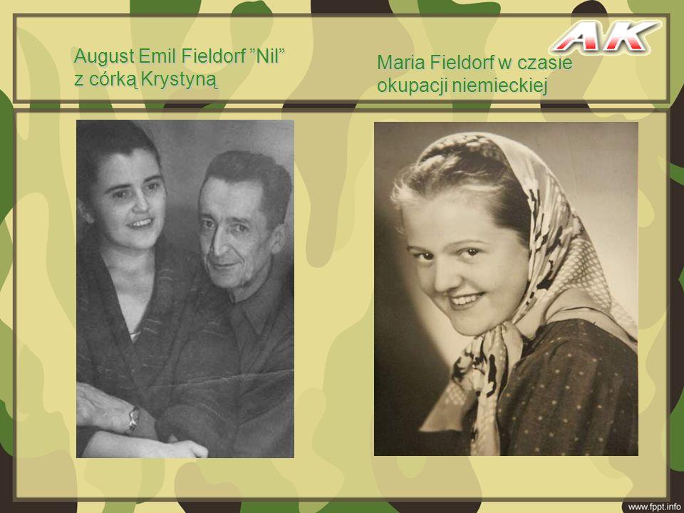 August Emil Fieldorf Nil z córką Krystyną