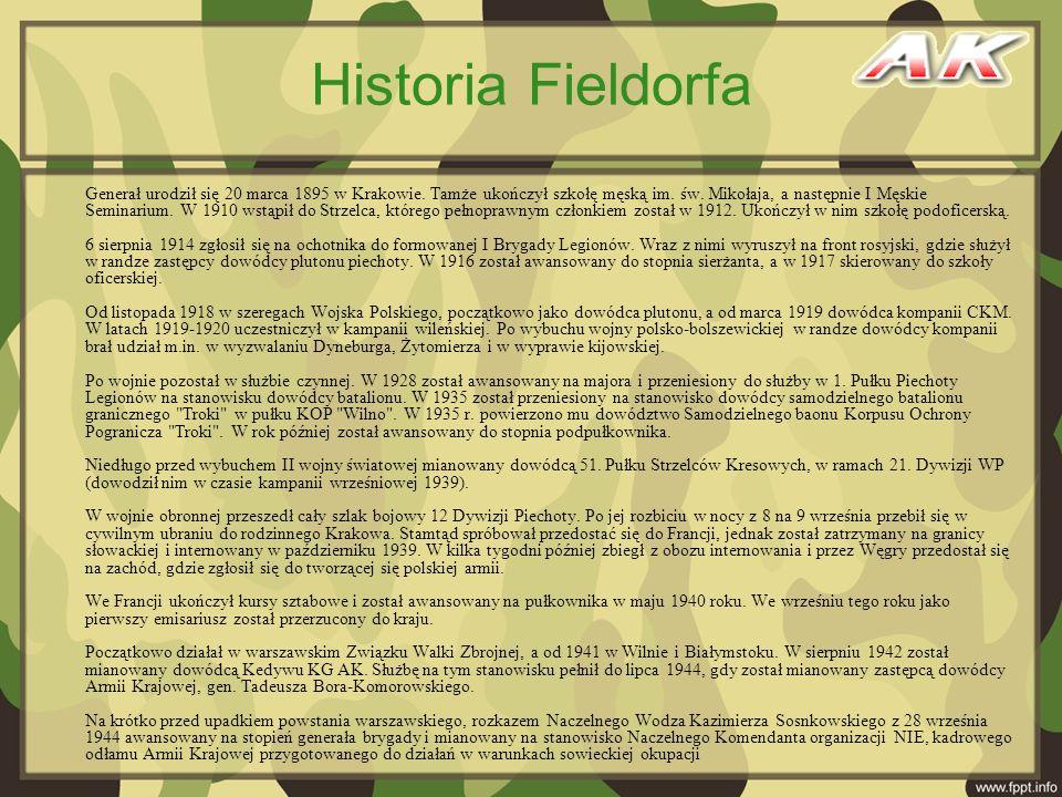 Historia Fieldorfa
