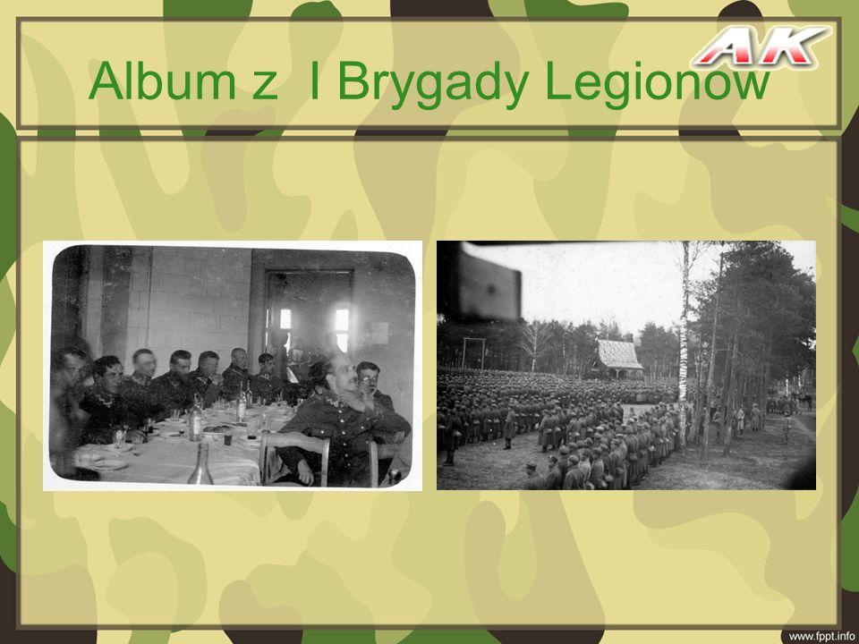 Album z I Brygady Legionów