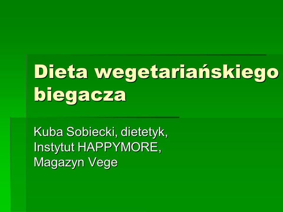 Dieta wegetariańskiego biegacza
