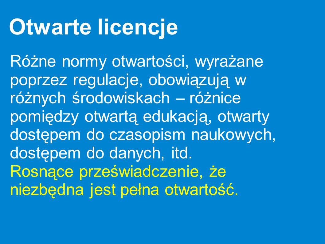 Otwarte licencje