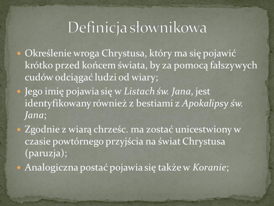 Definicja słownikowa