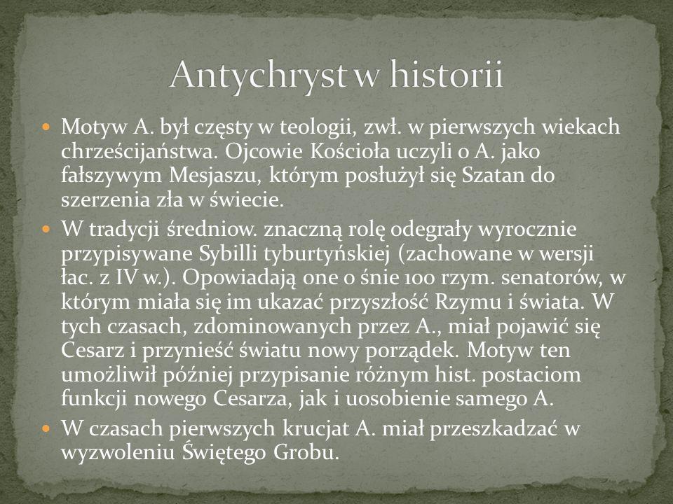 Antychryst w historii