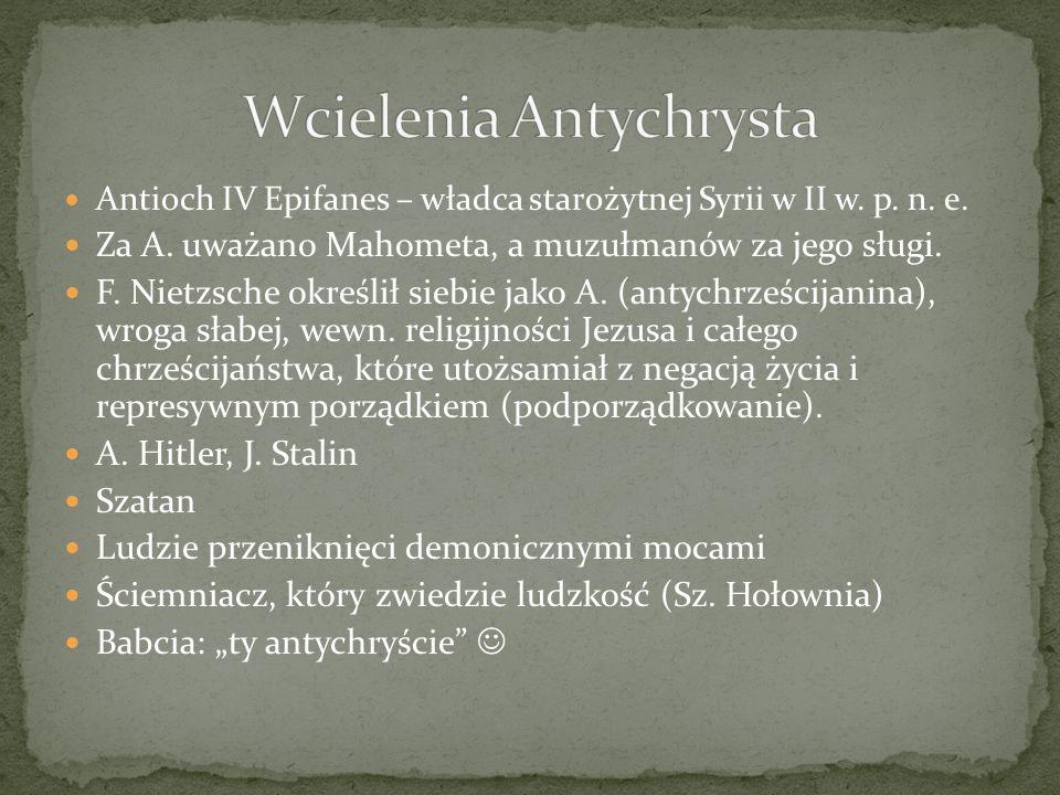 Wcielenia Antychrysta