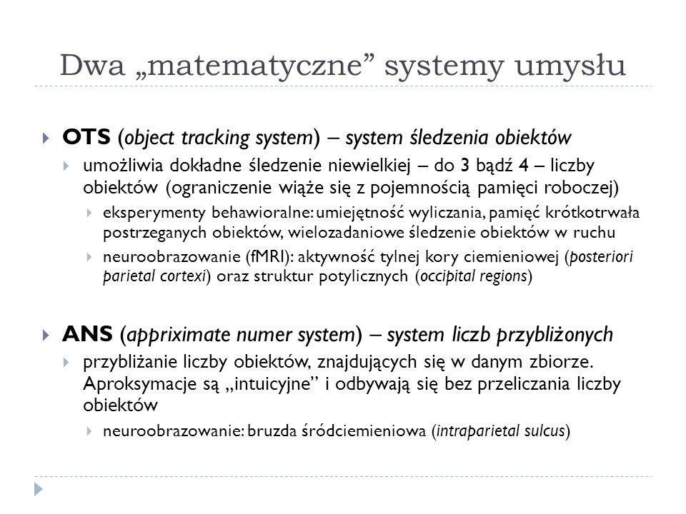 """Dwa """"matematyczne systemy umysłu"""