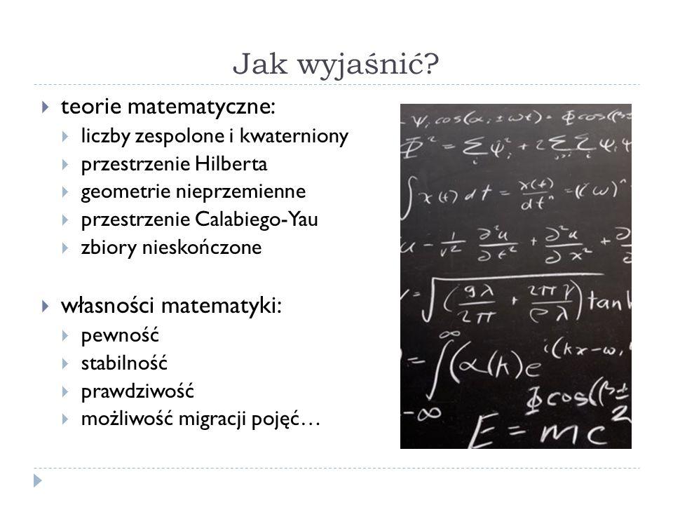 Jak wyjaśnić teorie matematyczne: własności matematyki: