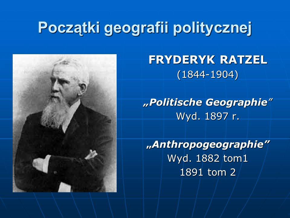 Początki geografii politycznej