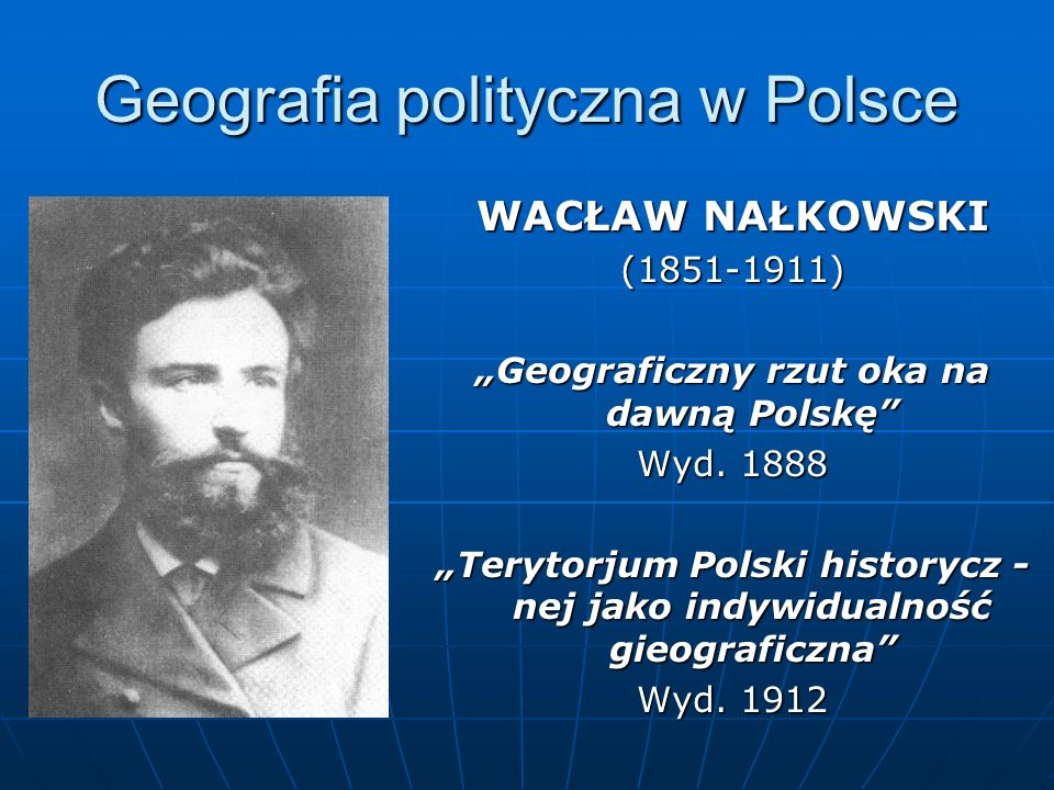 Geografia polityczna w Polsce