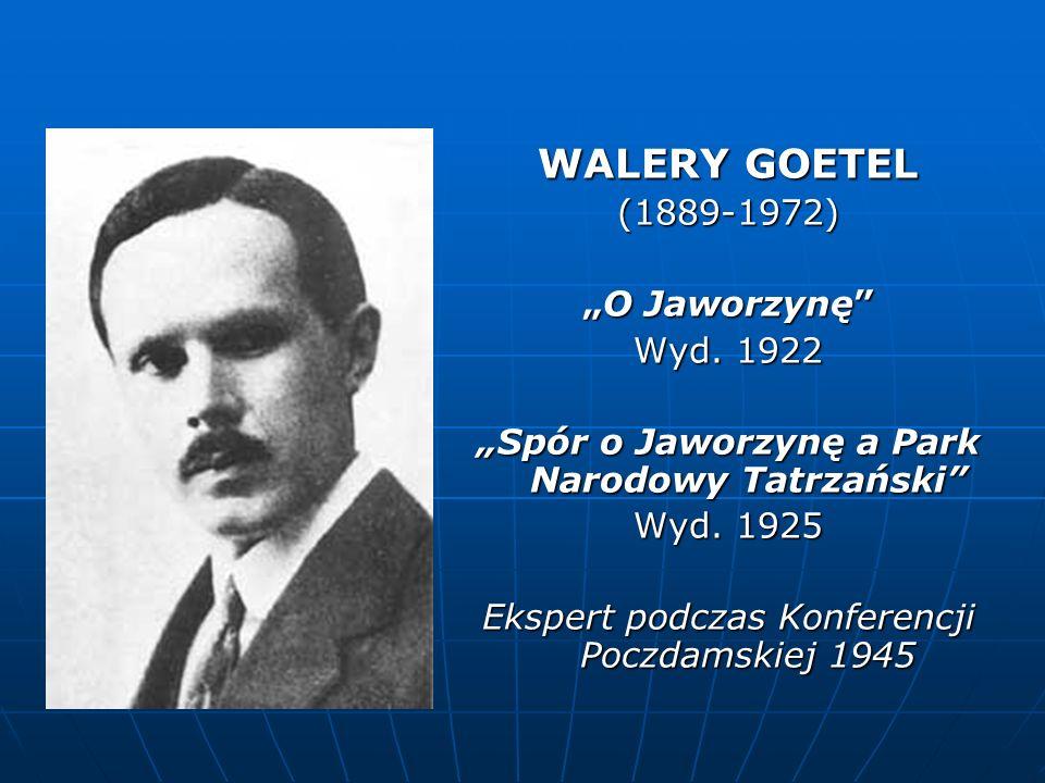 """""""Spór o Jaworzynę a Park Narodowy Tatrzański"""