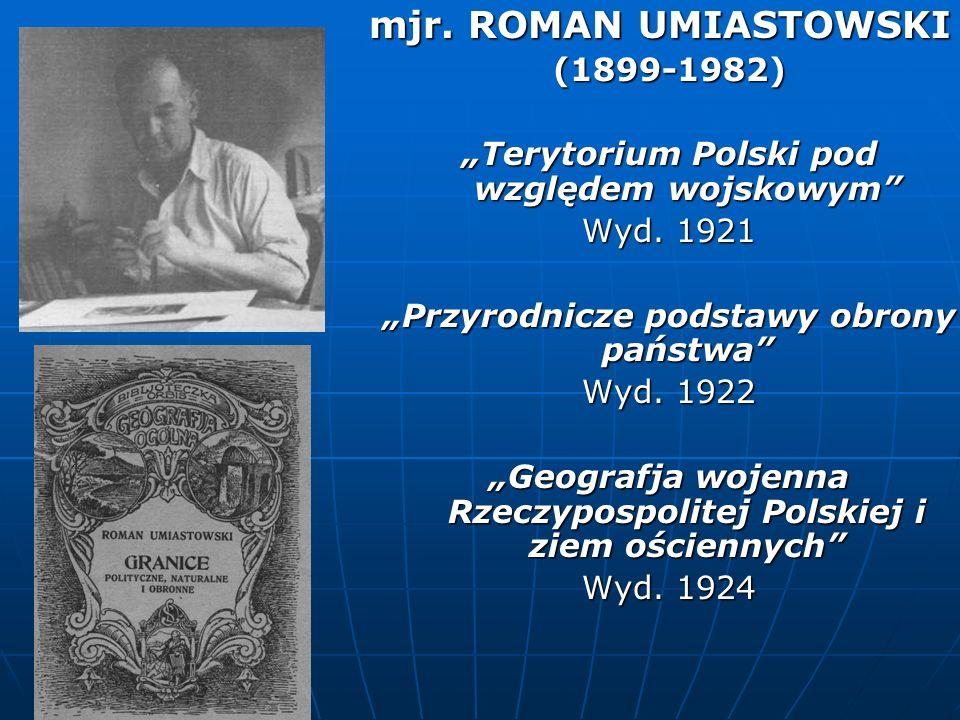 mjr. ROMAN UMIASTOWSKI (1899-1982)