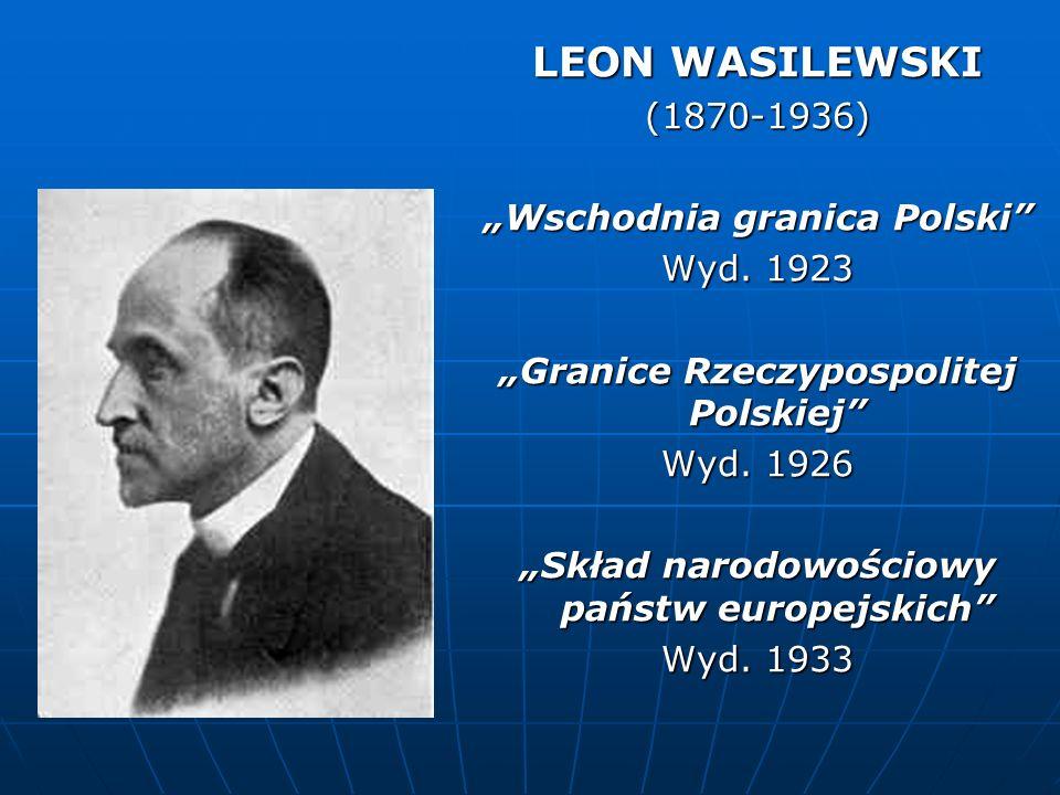 """""""Wschodnia granica Polski """"Granice Rzeczypospolitej Polskiej"""