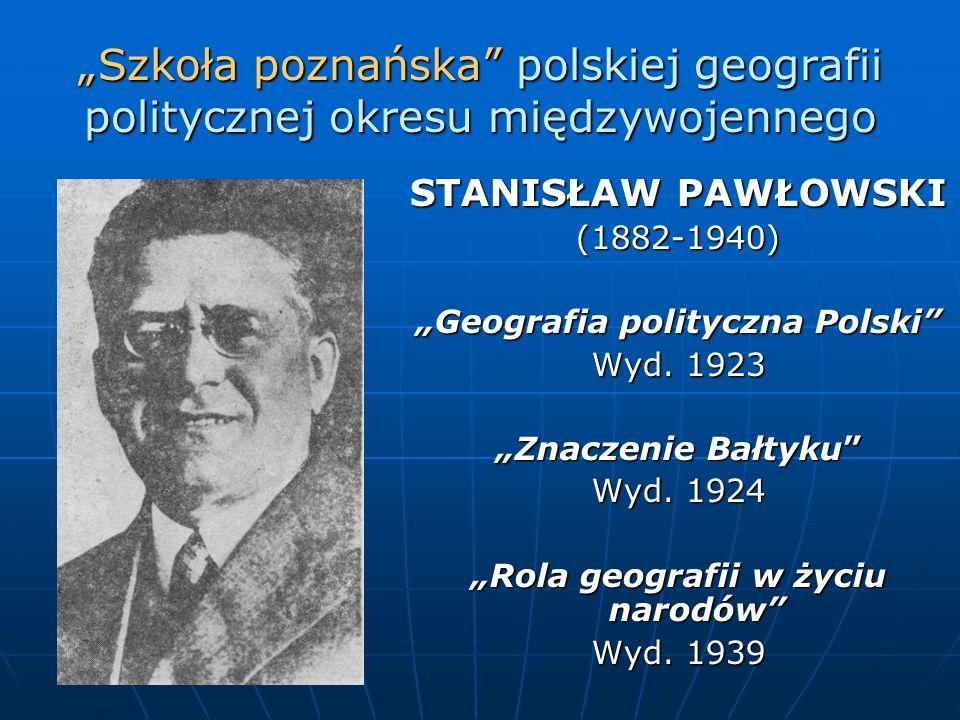 """""""Geografia polityczna Polski """"Rola geografii w życiu narodów"""