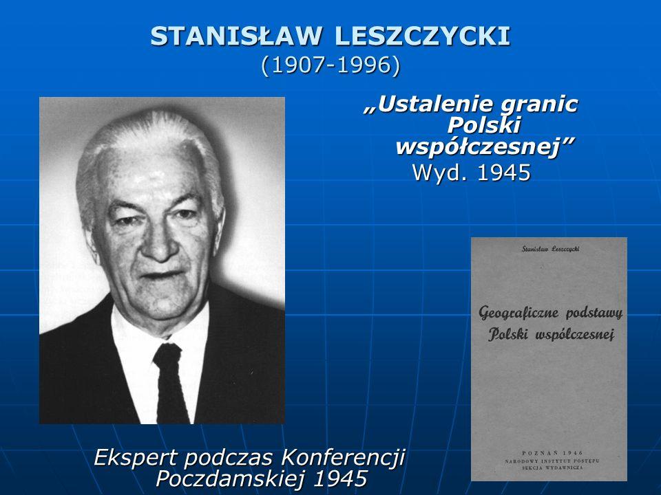 STANISŁAW LESZCZYCKI (1907-1996)