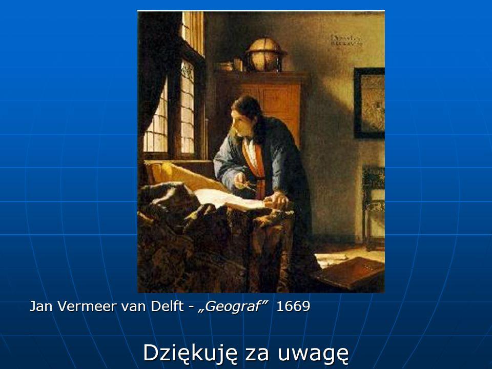 """Jan Vermeer van Delft - """"Geograf 1669"""