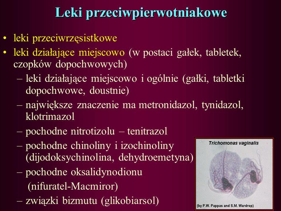 Leki przeciwpierwotniakowe