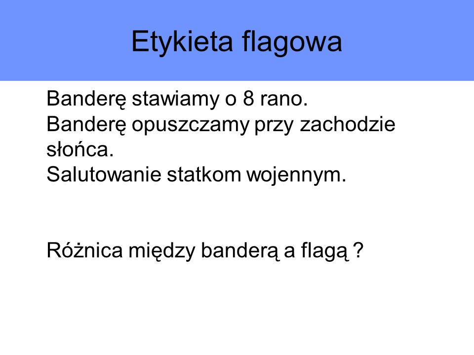 Etykieta flagowa