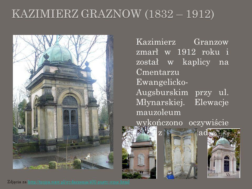 KAZIMIERZ GRAZNOW (1832 – 1912)