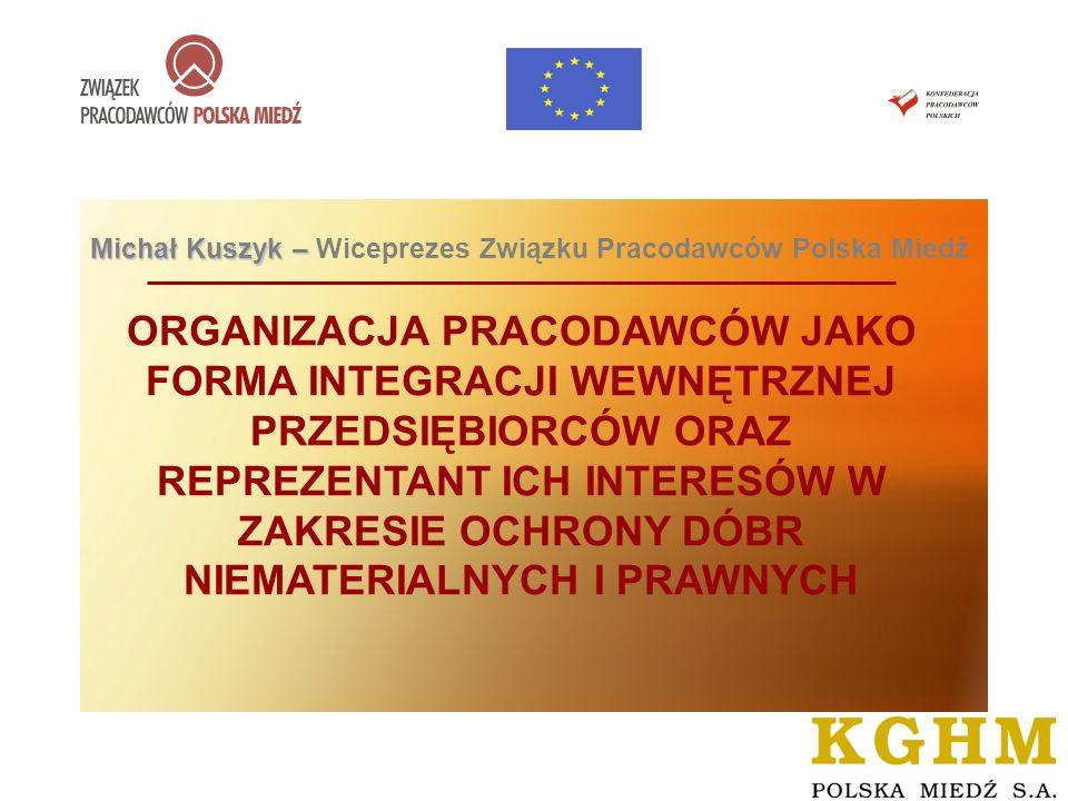 Michał Kuszyk – Wiceprezes Związku Pracodawców Polska Miedź