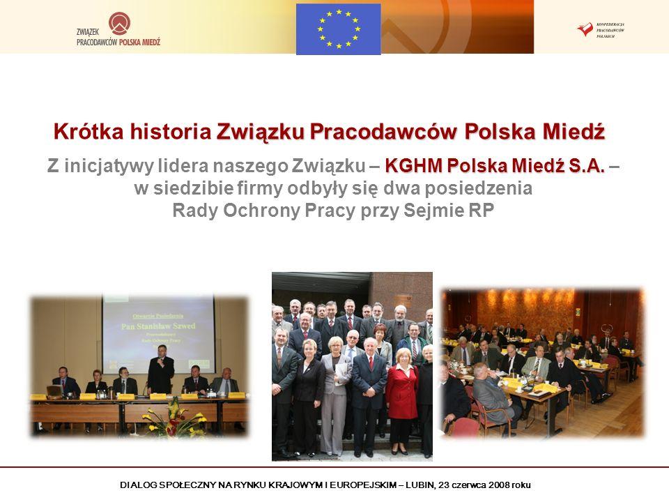 Krótka historia Związku Pracodawców Polska Miedź