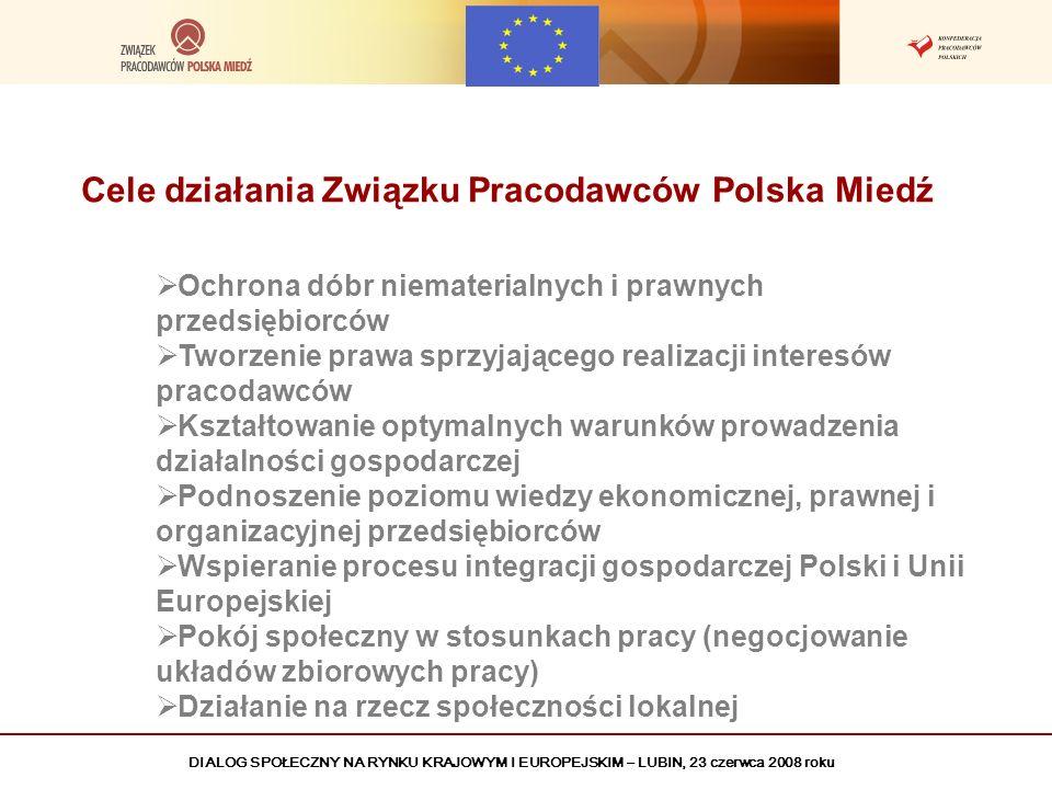 Cele działania Związku Pracodawców Polska Miedź