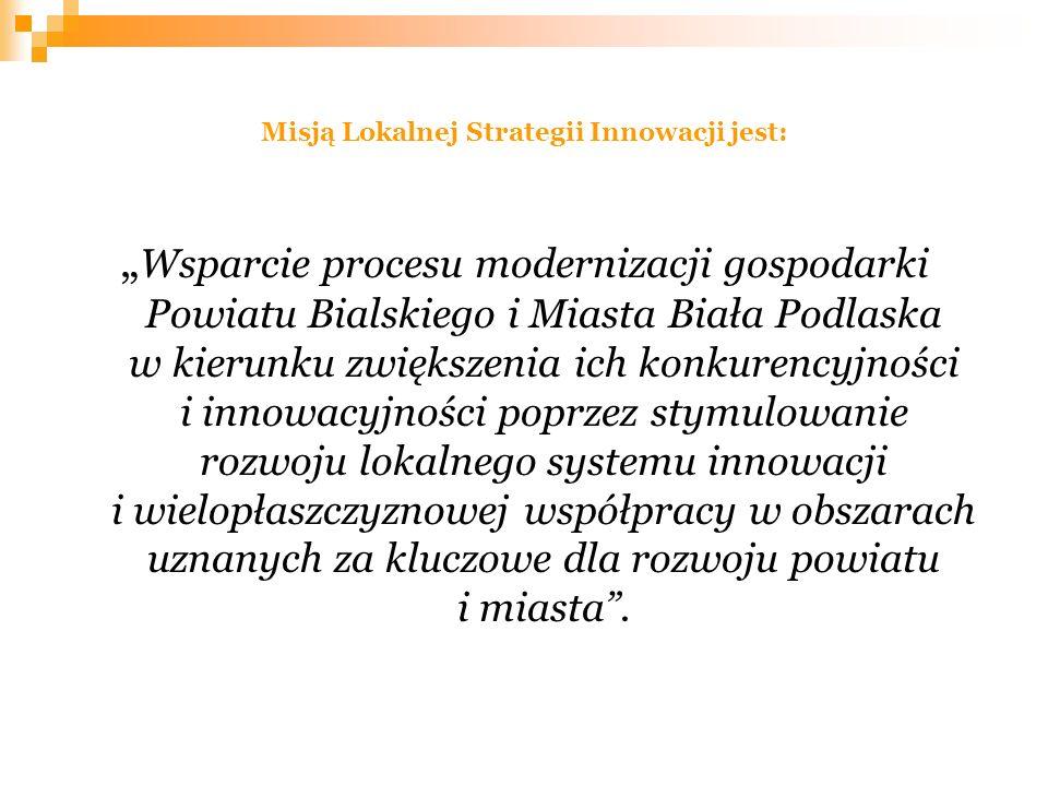 Misją Lokalnej Strategii Innowacji jest: