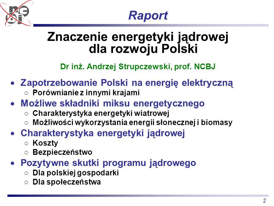 Znaczenie energetyki jądrowej dla rozwoju Polski