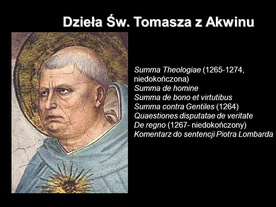 Dzieła Św. Tomasza z Akwinu